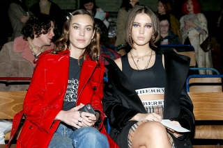 Alexa Chung and Iris Law